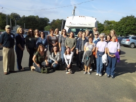 9/27/14 - CIC Lutheran Church Yadkin Valley Wine Tour