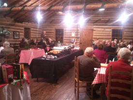 12/7/11 - Mesko/Griffith Christmas Party @ the Log Cabin, Ballantyne