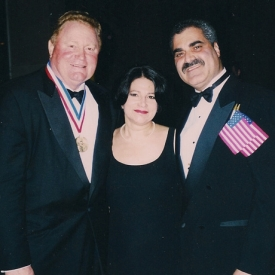 Rusty-Staub-with-PeterCuocolo-and-his-Wife