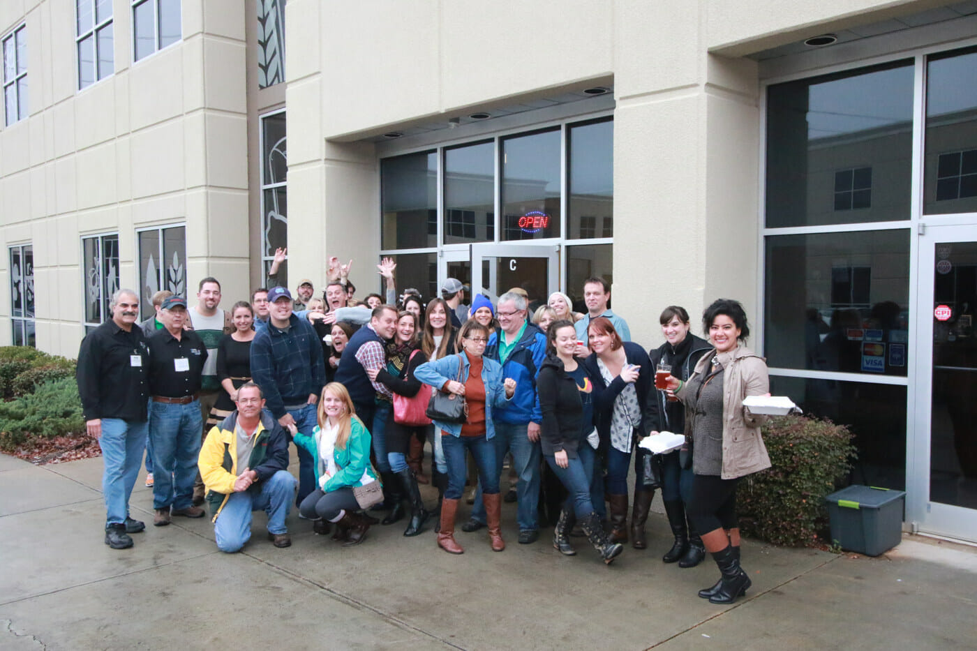 12.6.14 – Brew Ha Ha Tour Group Picture @ D9 Brewery